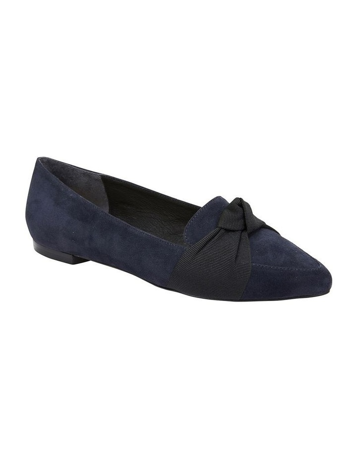 Tango Navy Suede Flat Shoes image 2