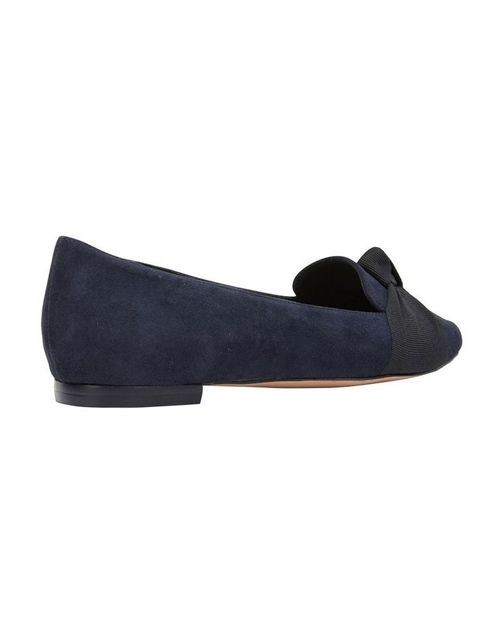 Tango Navy Suede Flat Shoes image 4