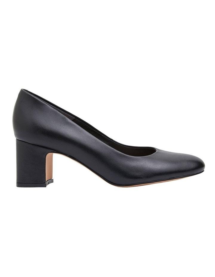 Joyce Black Glove Heeled Shoes image 1