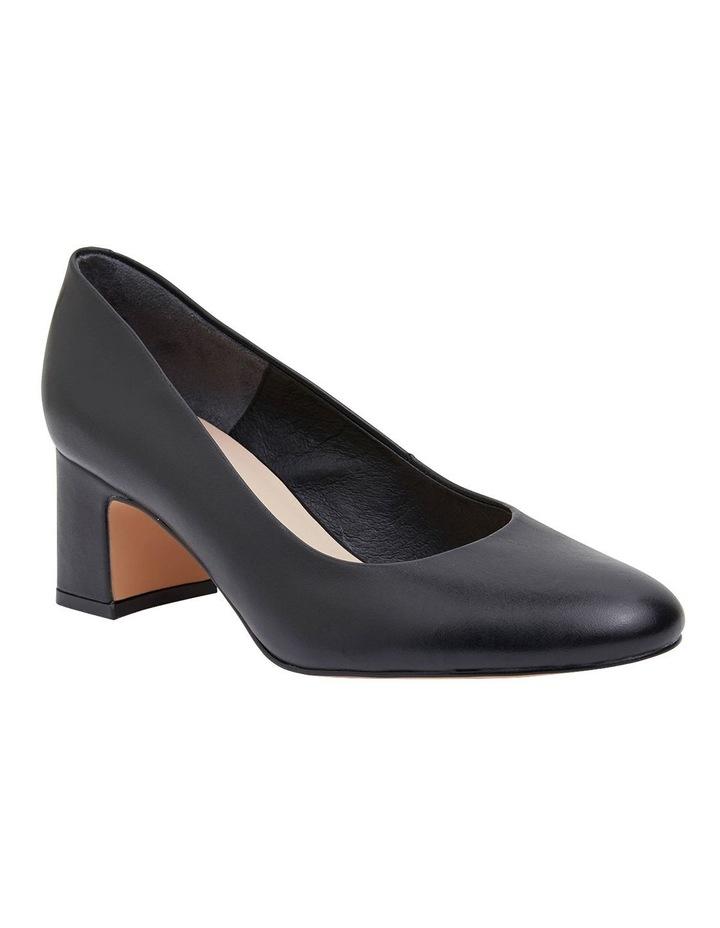 Joyce Black Glove Heeled Shoes image 2
