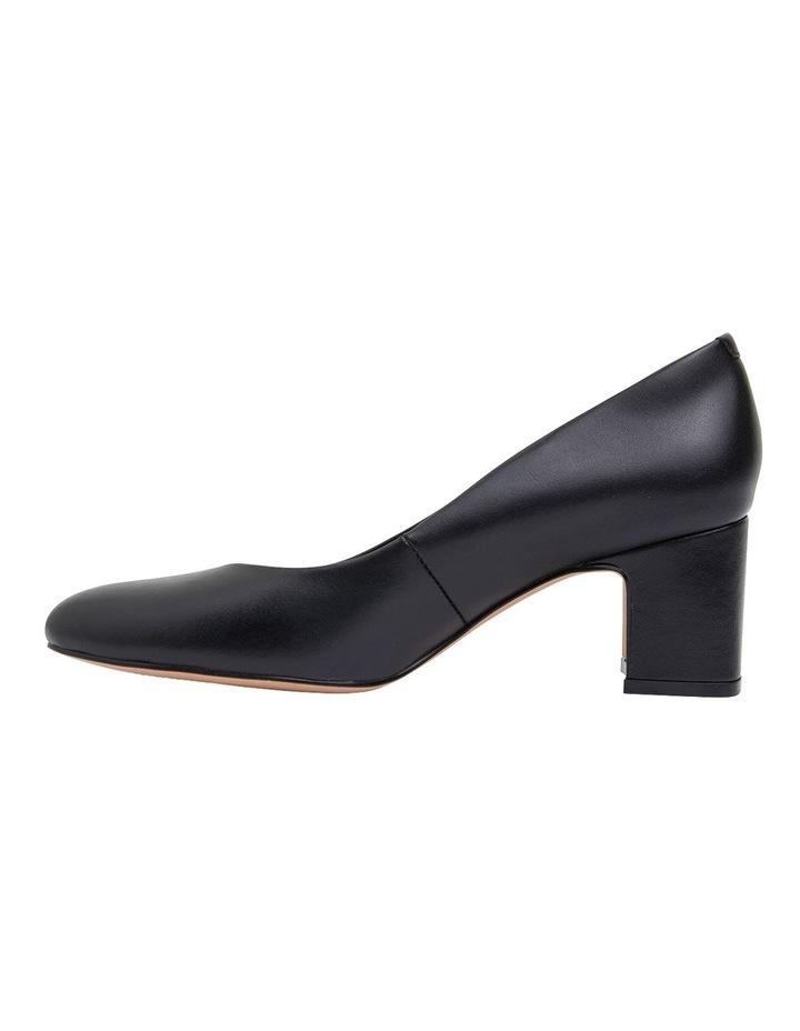 Joyce Black Glove Heeled Shoes image 3