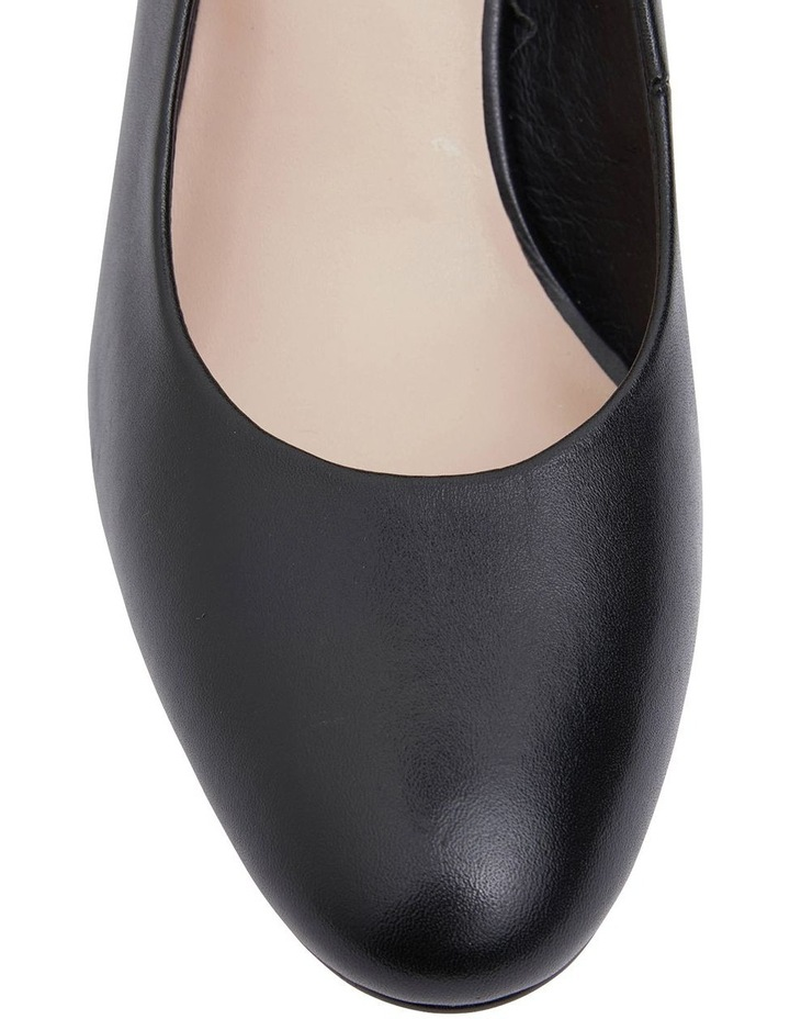 Joyce Black Glove Heeled Shoes image 6