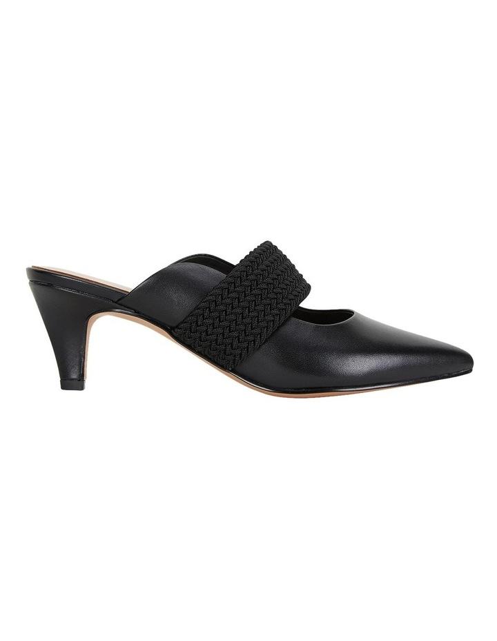 Symbol Black Glove Heeled Shoes image 1