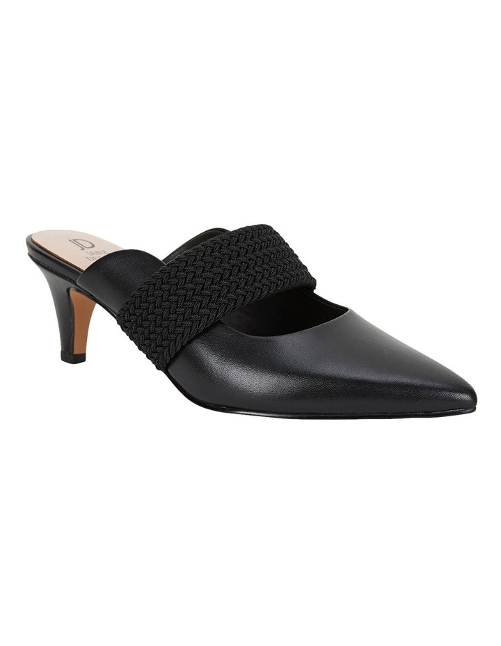 Symbol Black Glove Heeled Shoes image 2