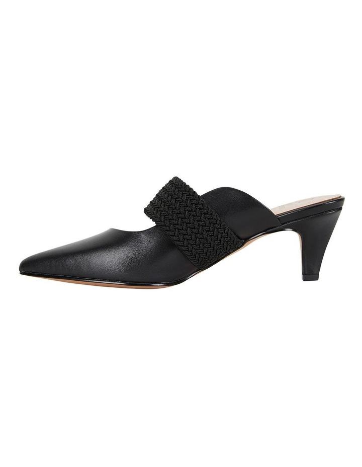 Symbol Black Glove Heeled Shoes image 3