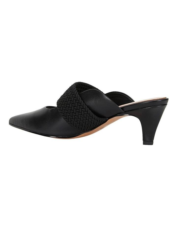 Symbol Black Glove Heeled Shoes image 7
