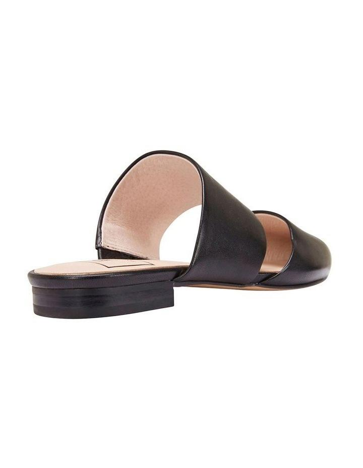 Arcadia Black Glove Flat Shoes image 4