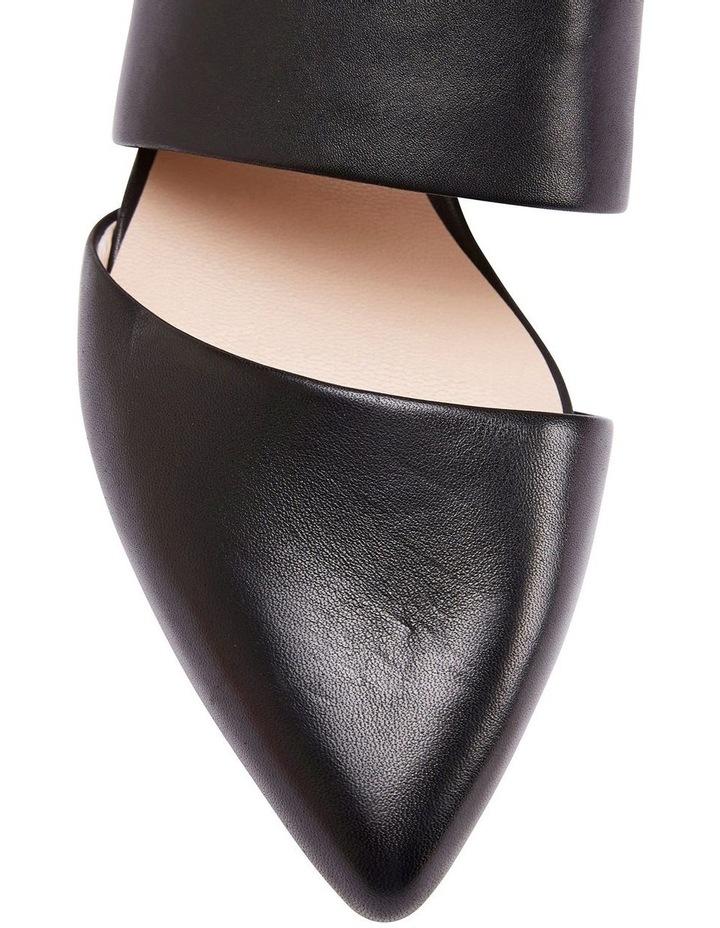 Arcadia Black Glove Flat Shoes image 6