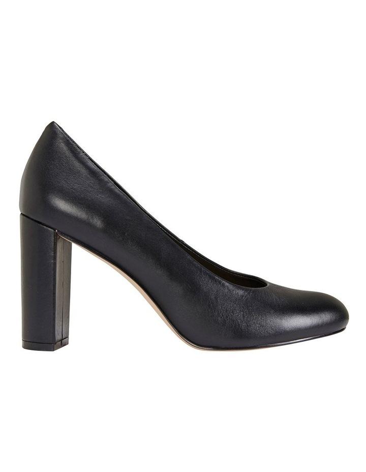 Epic Black Glove Heeled Shoes image 1
