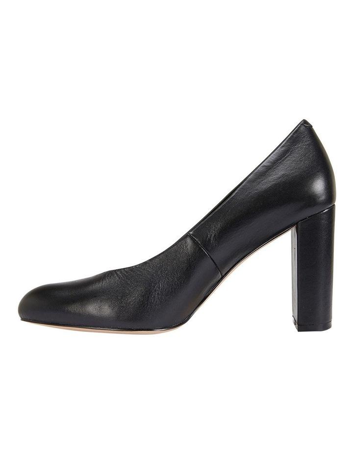 Epic Black Glove Heeled Shoes image 2