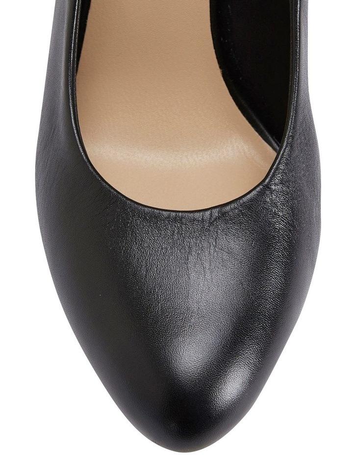 Epic Black Glove Heeled Shoes image 4