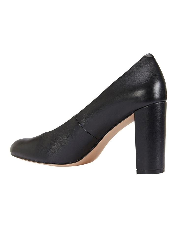 Epic Black Glove Heeled Shoes image 6