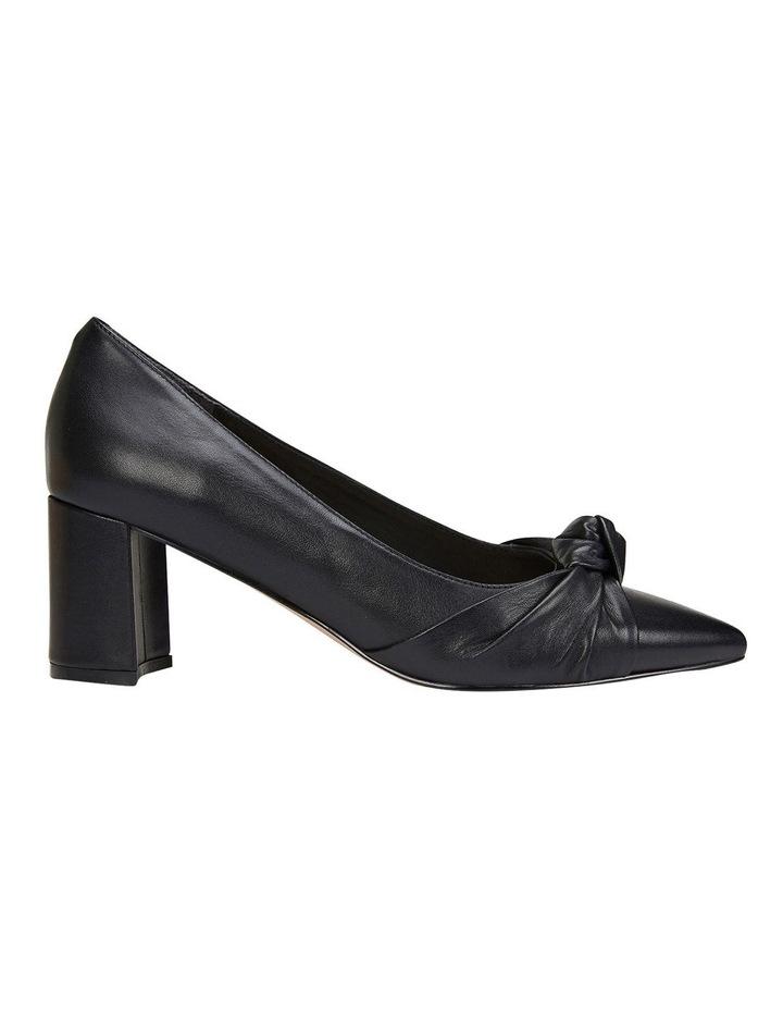 Flare Black Glove Heeled Shoes image 1