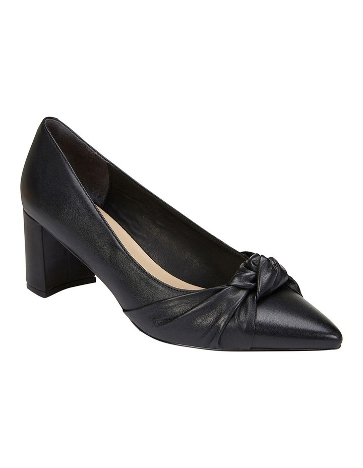Flare Black Glove Heeled Shoes image 2