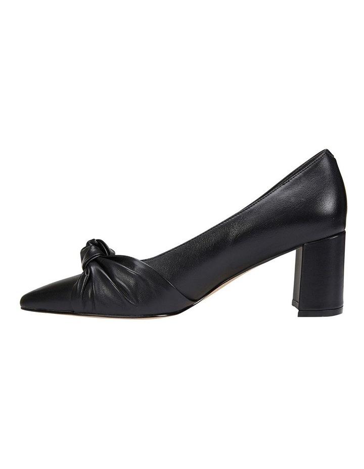 Flare Black Glove Heeled Shoes image 3