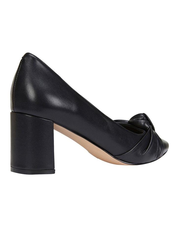 Flare Black Glove Heeled Shoes image 4
