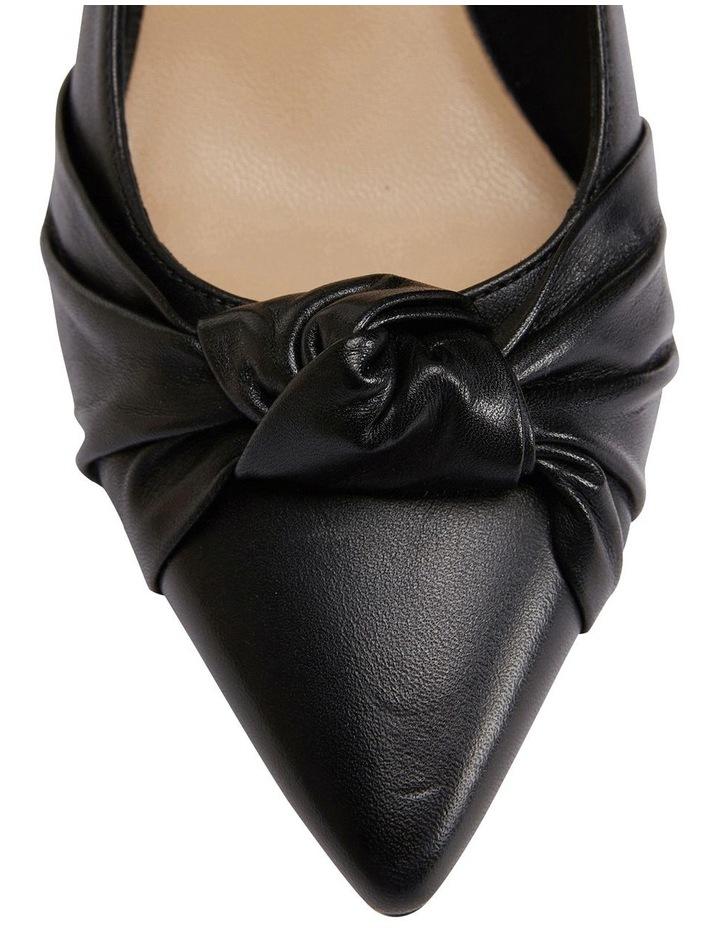Flare Black Glove Heeled Shoes image 6
