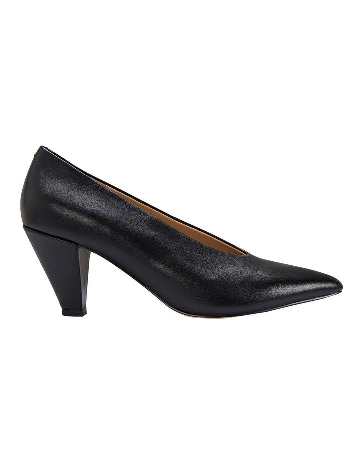 Nancy Black Glove Heeled Shoes image 1