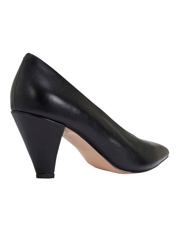 Nancy Black Glove Heeled Shoes image 4