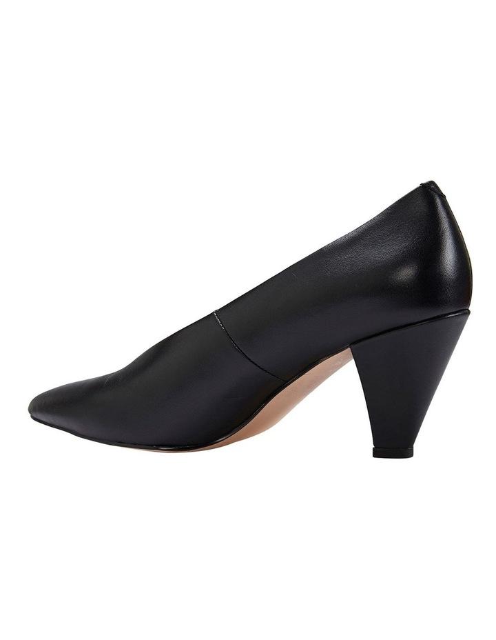 Nancy Black Glove Heeled Shoes image 7