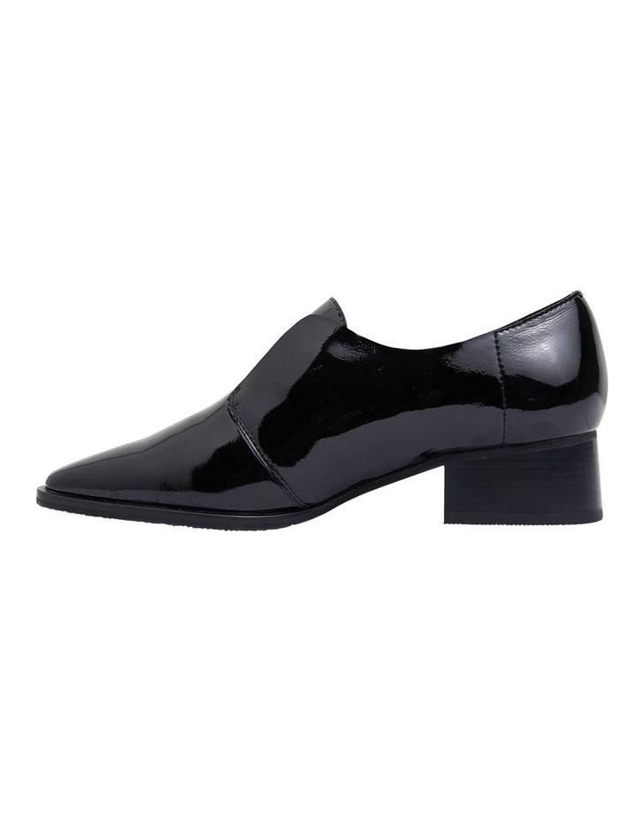 Editor Black Glove Heeled Shoes image 3