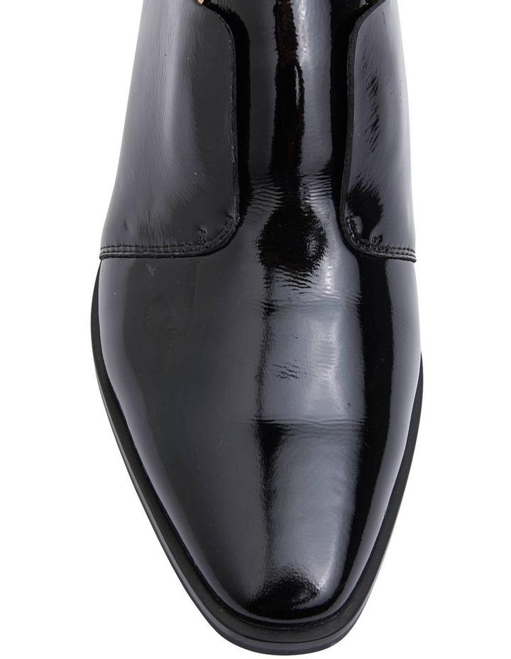 Editor Black Glove Heeled Shoes image 6