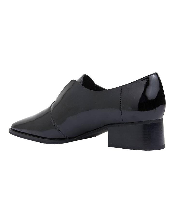Editor Black Glove Heeled Shoes image 7