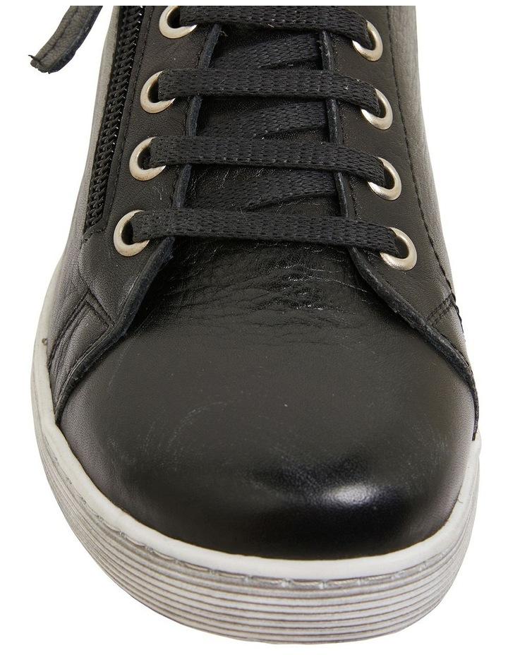 Grand Black Glove Sneakers image 6