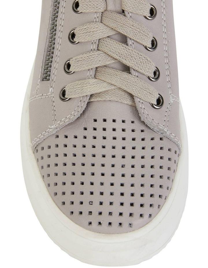 Carson Light Grey Nappa Sneakers image 6