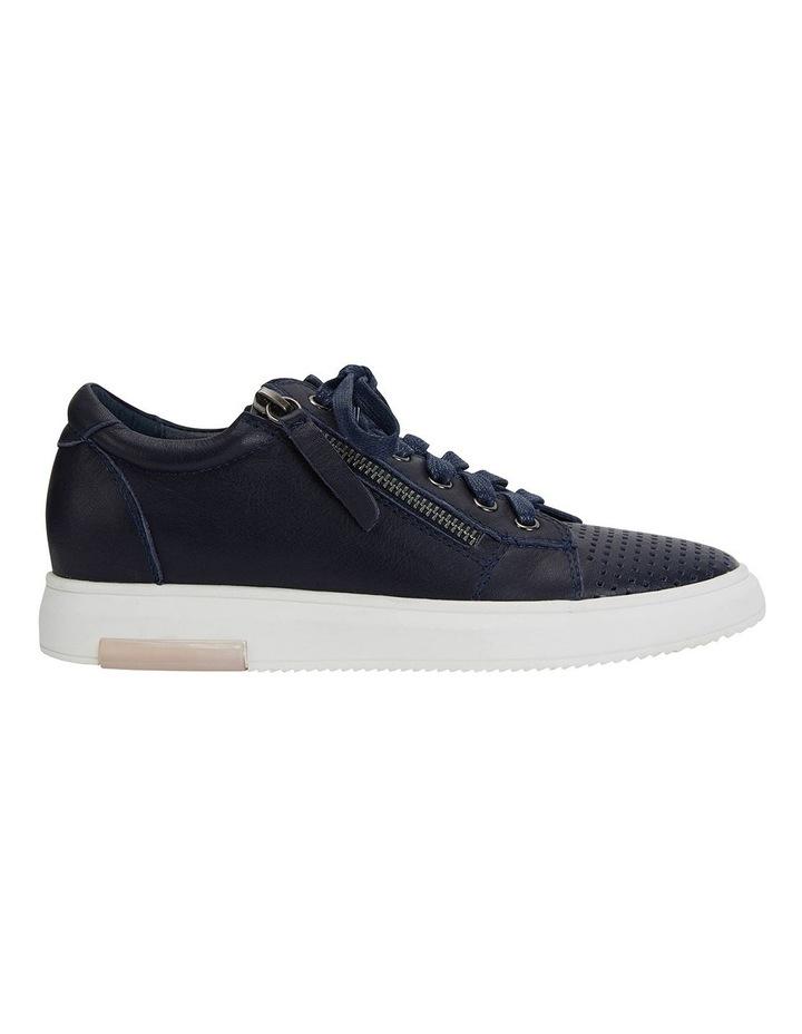 Carson Navy Nappa Sneakers image 1