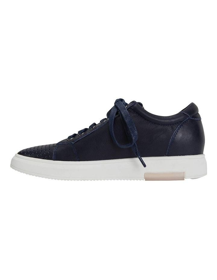 Carson Navy Nappa Sneakers image 3