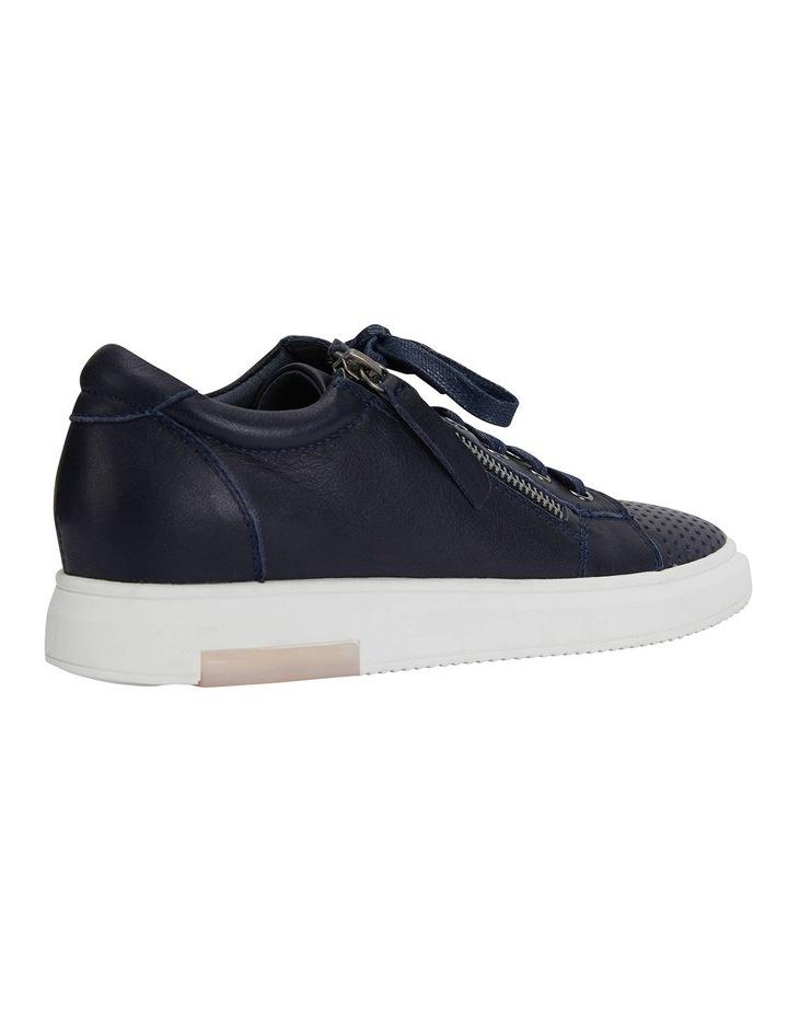 Carson Navy Nappa Sneakers image 4