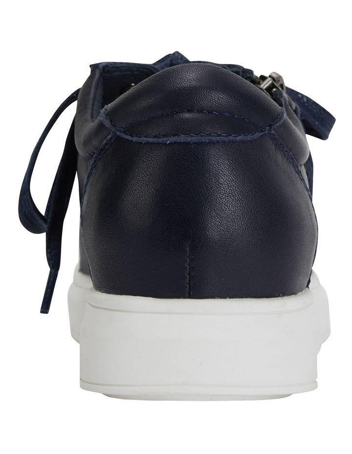 Carson Navy Nappa Sneakers image 5