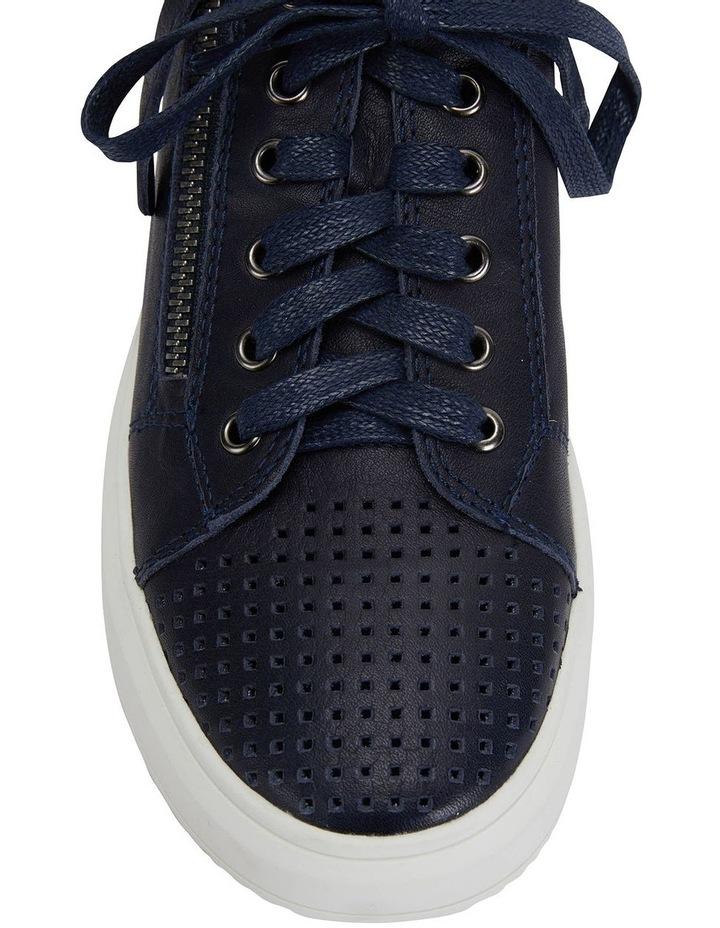 Carson Navy Nappa Sneakers image 6