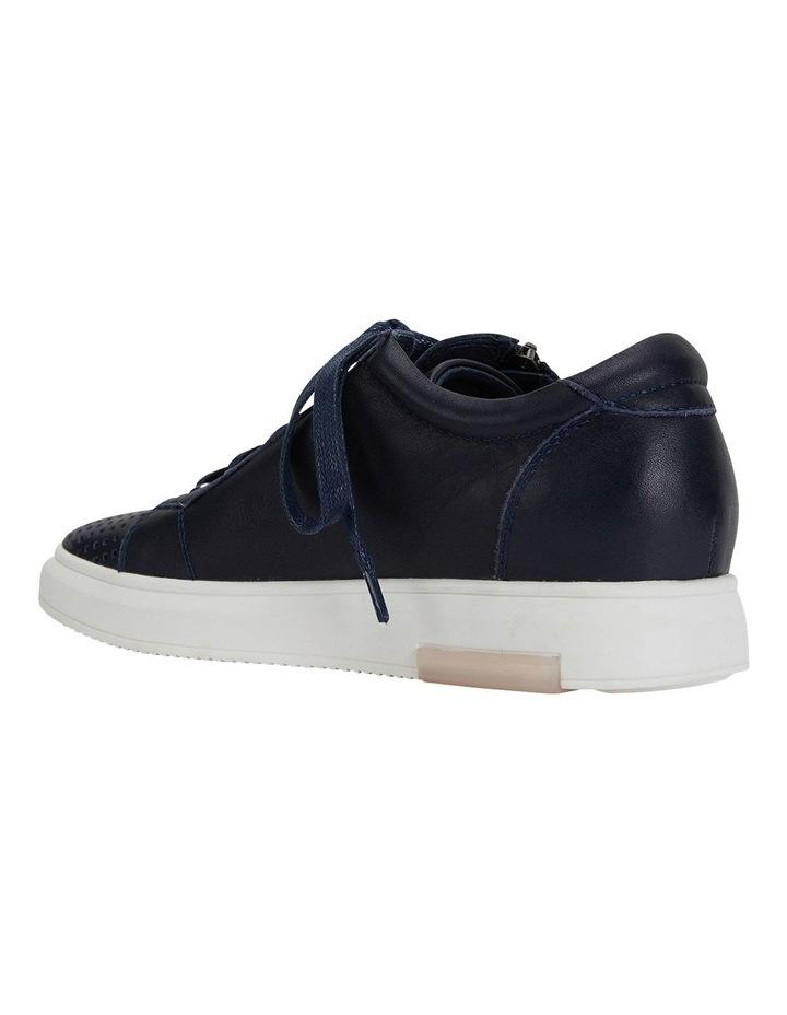Carson Navy Nappa Sneakers image 7