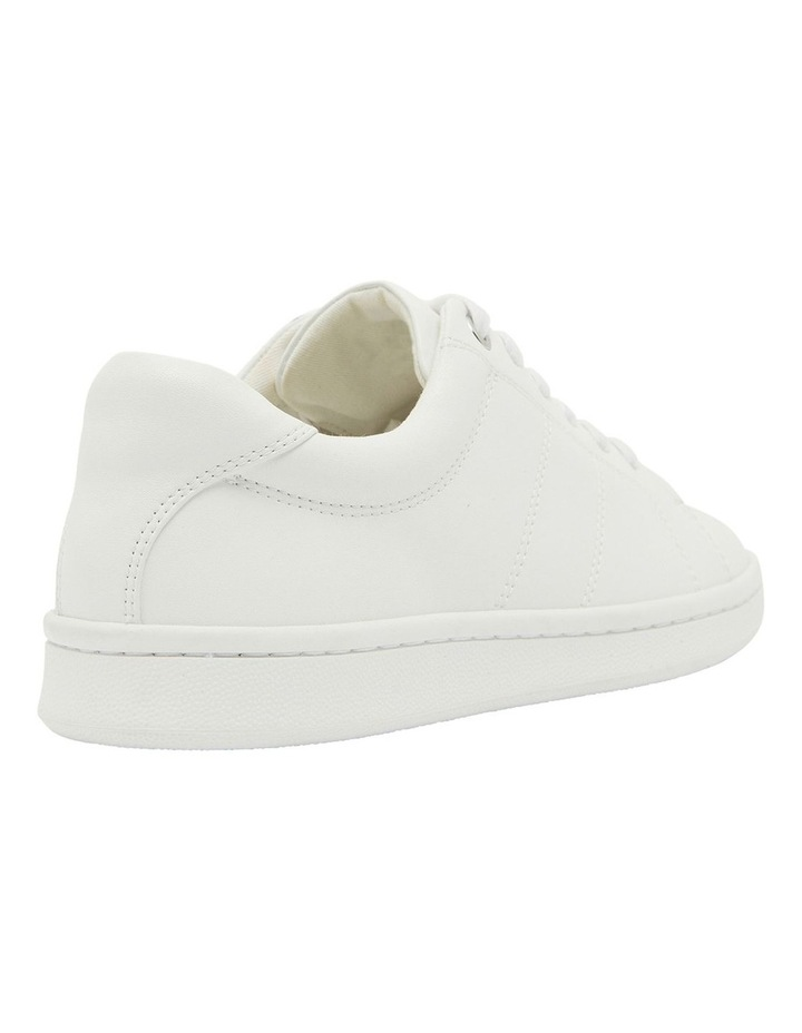 Casper White Glove Sneakers image 4