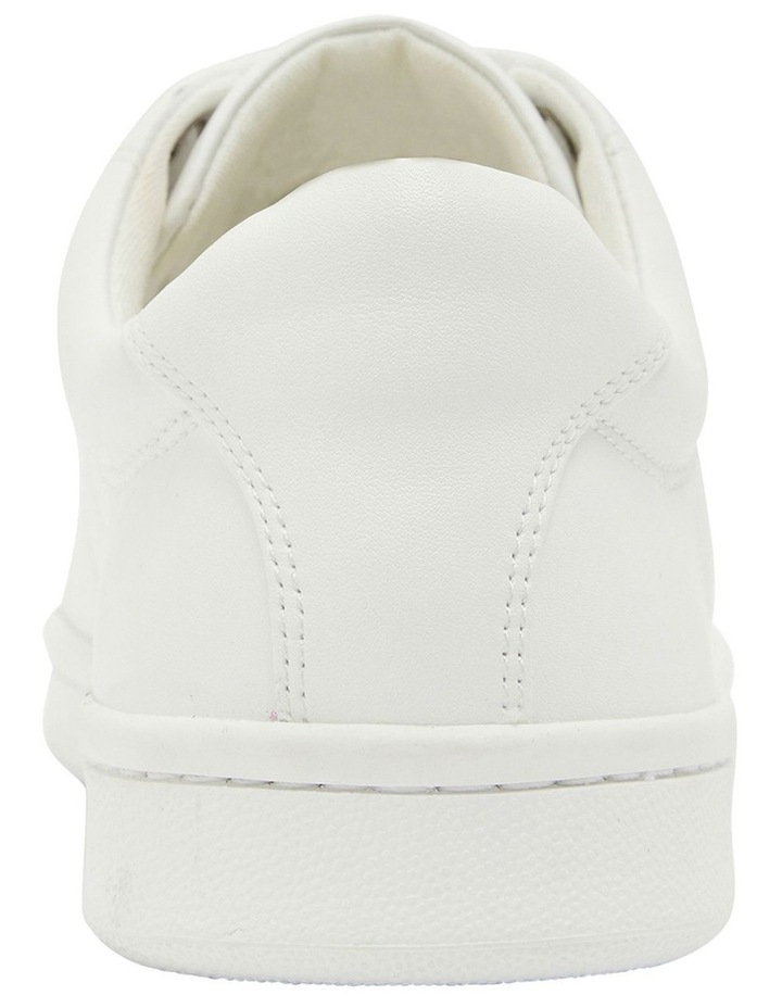 Casper White Glove Sneakers image 5
