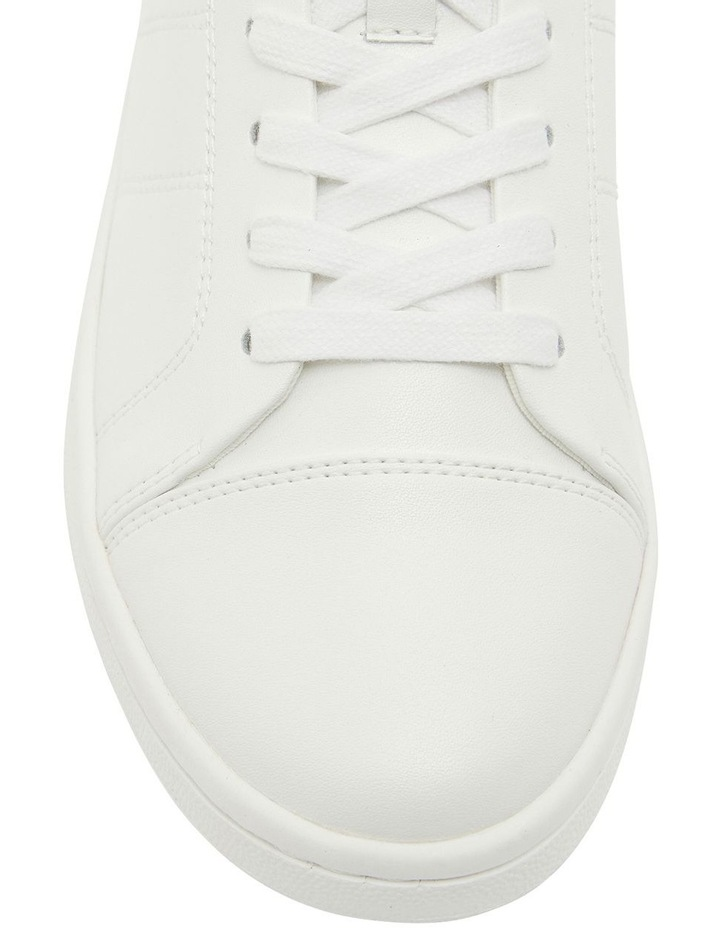 Casper White Glove Sneakers image 6
