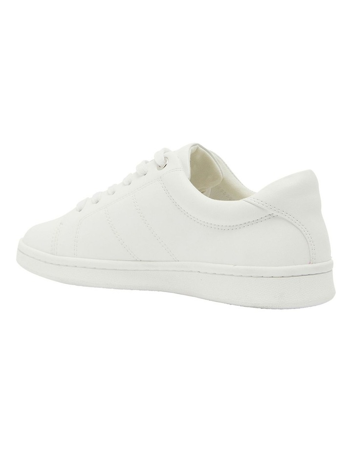 Casper White Glove Sneakers image 7
