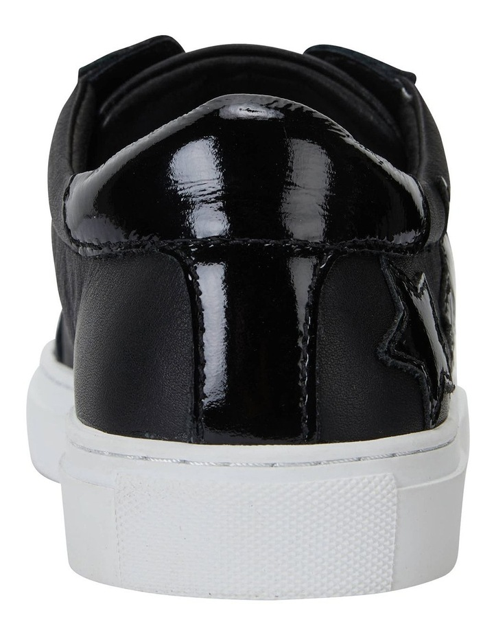 Campus Black/Black Patent Sneakers image 4