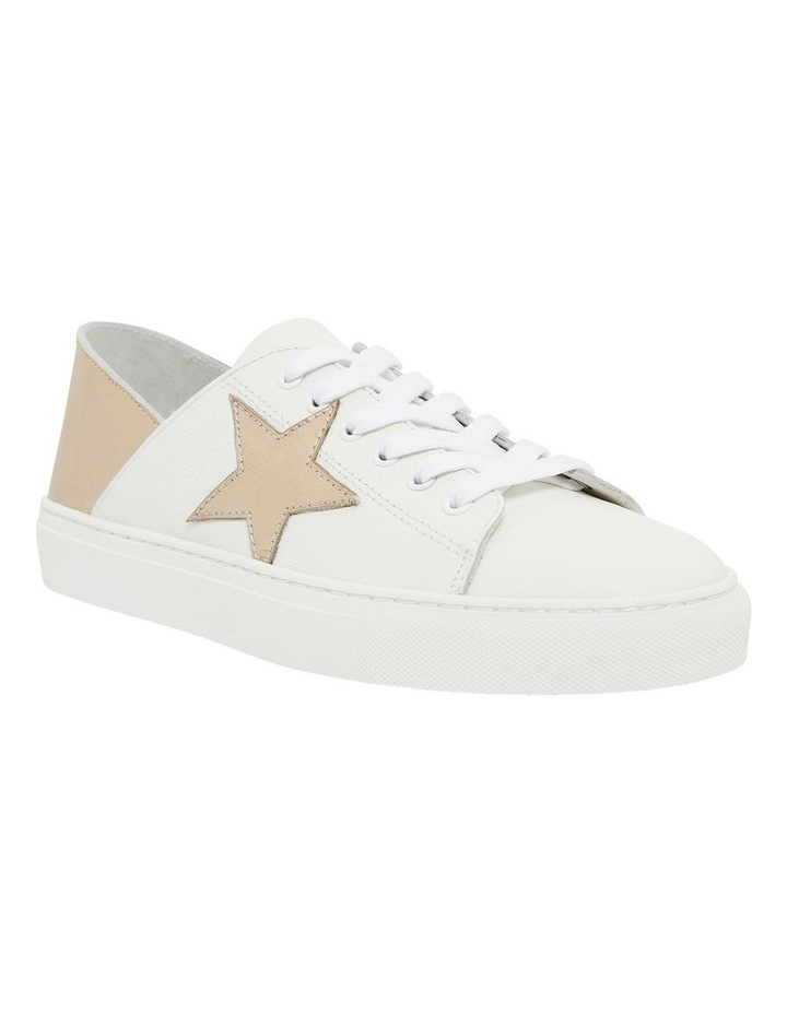 Rocket White/Soft Gold Sneakers image 2