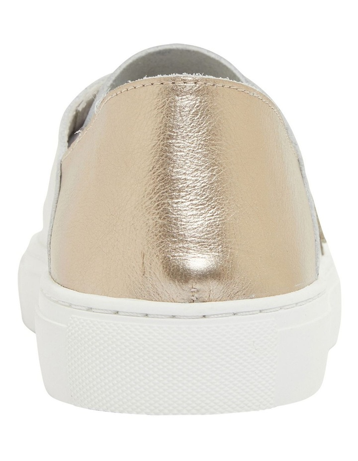 Rocket White/Soft Gold Sneakers image 5