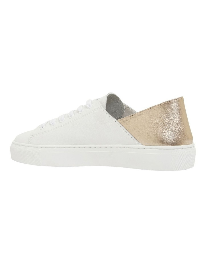 Rocket White/Soft Gold Sneakers image 7