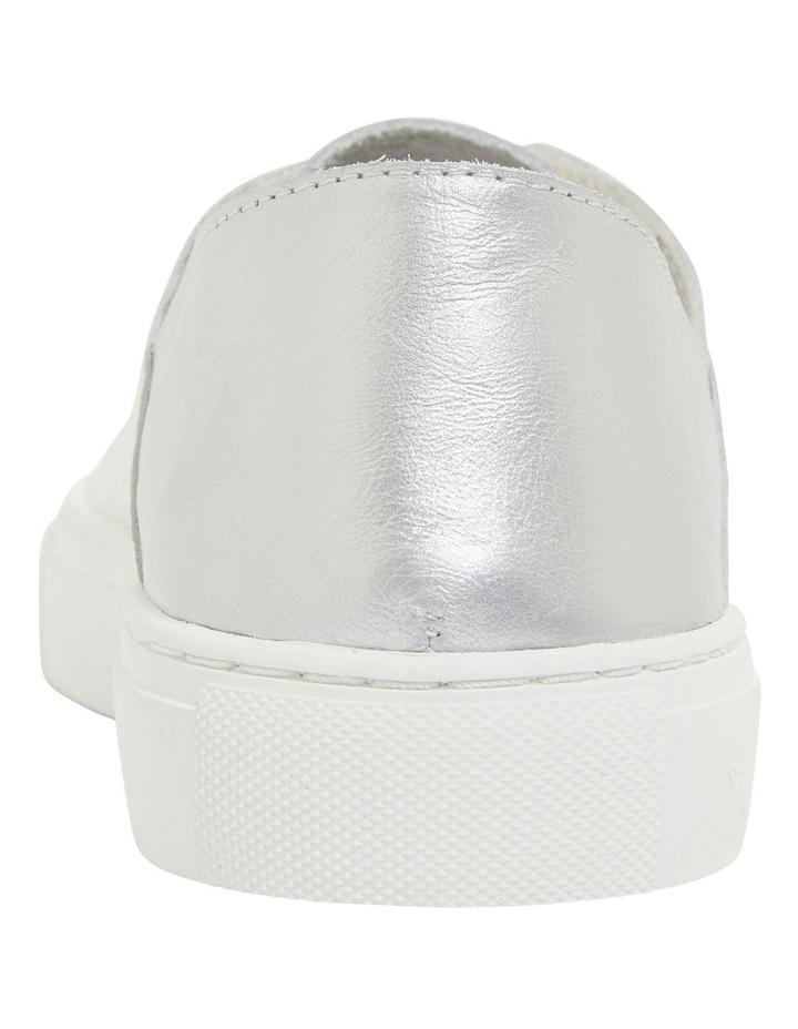 Rocket White/Silver Sneakers image 5