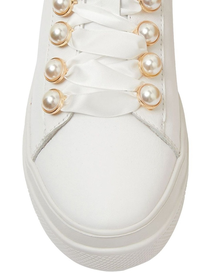 Bant White Glove Sneakers image 6