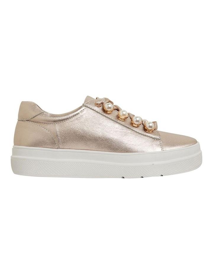 Bant Soft Gold Metallic Sneakers image 1
