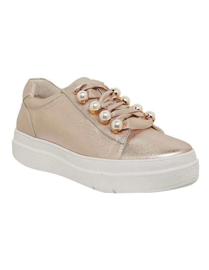 Bant Soft Gold Metallic Sneakers image 2