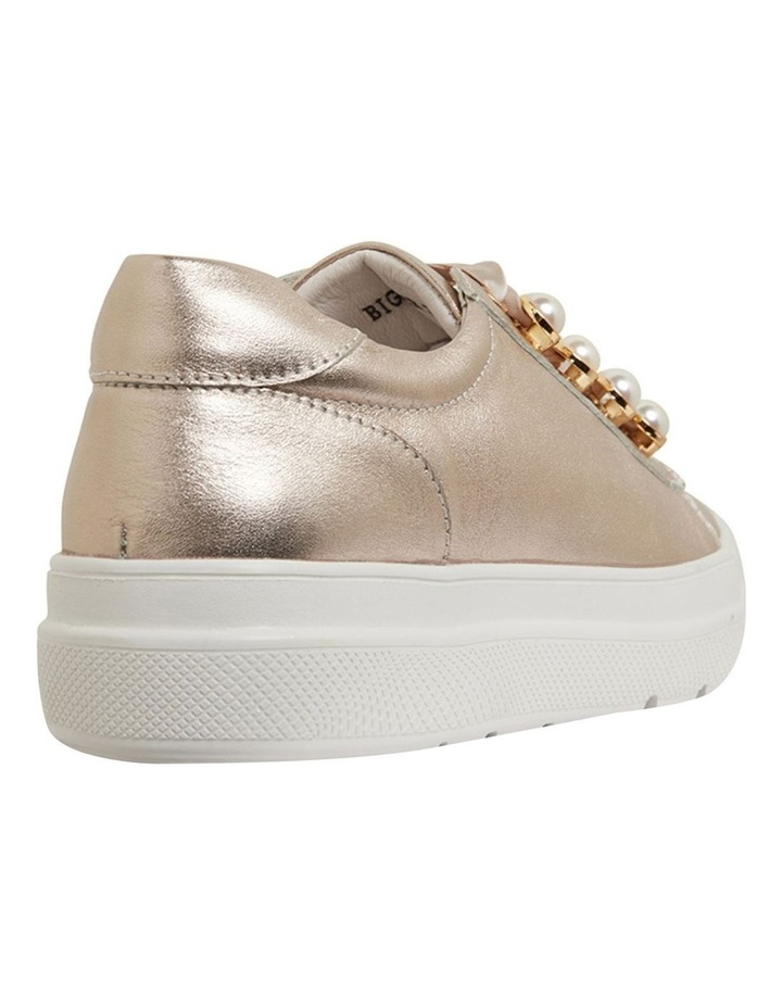 Bant Soft Gold Metallic Sneakers image 3