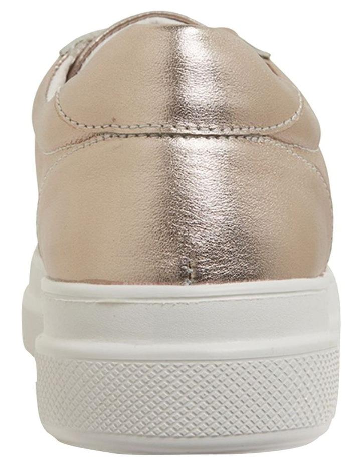Bant Soft Gold Metallic Sneakers image 4