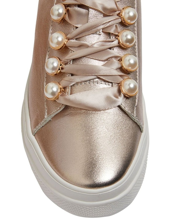 Bant Soft Gold Metallic Sneakers image 5